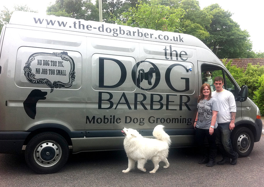the Dog Barber Van Conversion