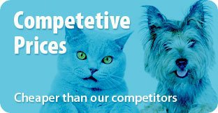 Competetive Prices - Cheaper than our competitors