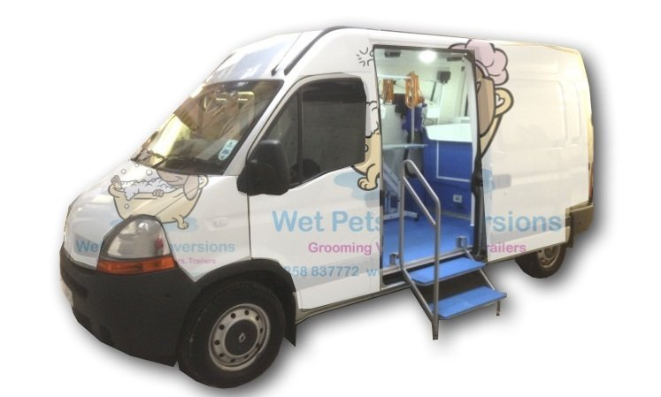 Pet Grooming Van Conversions 10 year guarantee